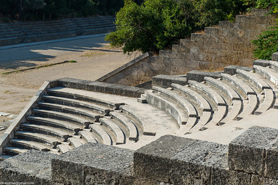 Theater near temple of Apollo