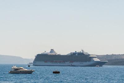 Riviera off Santorini