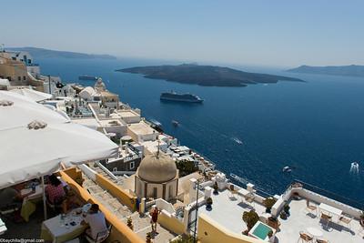 Santorini, Greece July 2013