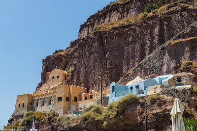 It's almost like a cross between Zuni cliff houses and Caribbean paint schemes