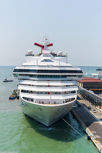 Being trailed by the Carnival Sunshine