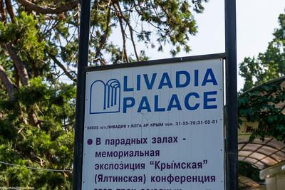 Livadia Palace, aka Czars summer palace, aka Yalta house