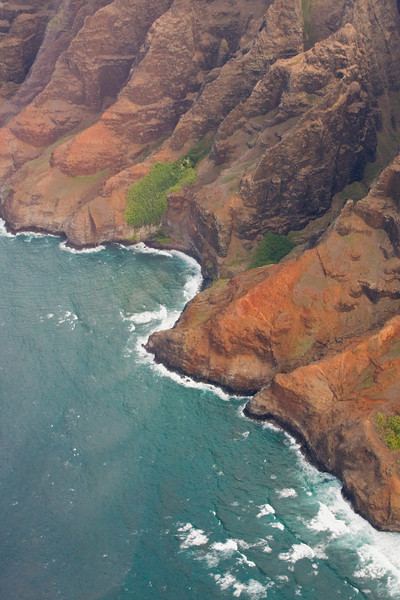 Napali Coast from Helicopter Tour