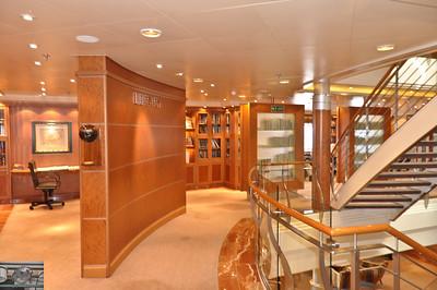 The massive library.