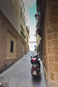 ADV Scooter in Cadiz.