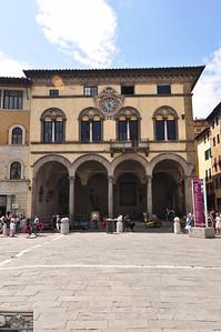 Main square (Lucca).