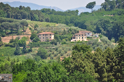 Yet more of the Tuscan countryside.