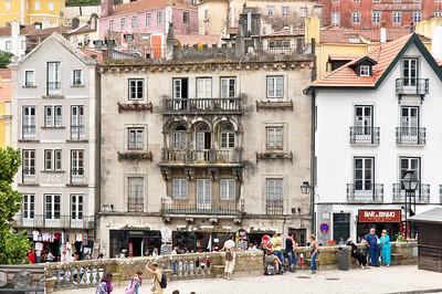 Old buildings outside Lisbon.