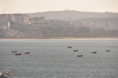 Mighty Portuguese fishing armada.