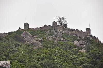 Old fort outside Lisbon.