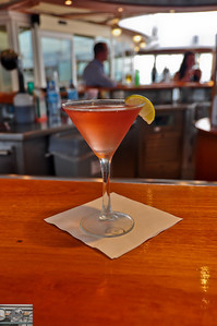 My first Cosmo on the ship.  Sadly they didn't seem to believe in fresh squeezed lime juice.