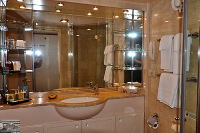 Bathroom on Voyager.