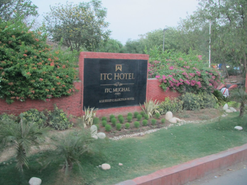 Our second night in India at the ITC Mughal