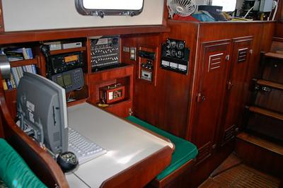 Navigation desk.