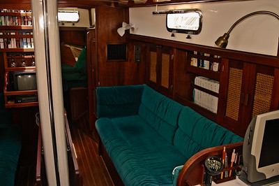 Main Salon - starboard side.