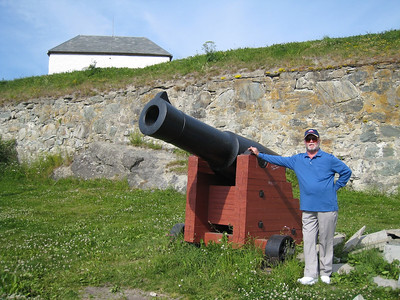 Fort at Trondheim