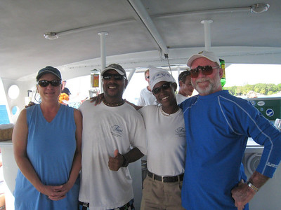 Catamaran Sail, Snorkel and Turtle Encounter, Barbados - Fun crew!