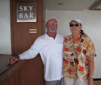 Our favorite spot during the day - the Sky Bar