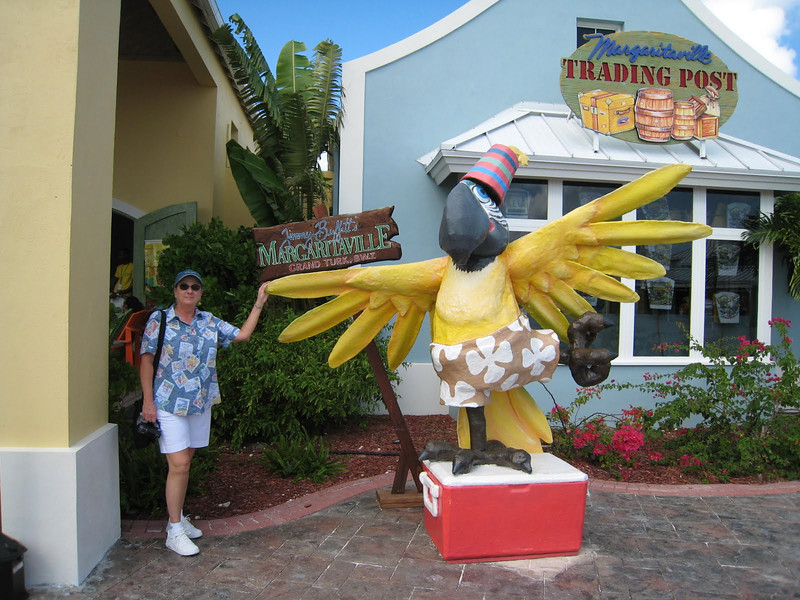 That's me at Jimmy Buffet's Margaritaville