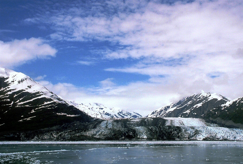 Turner Glacier with Growler Ice from Disenchantment Bay