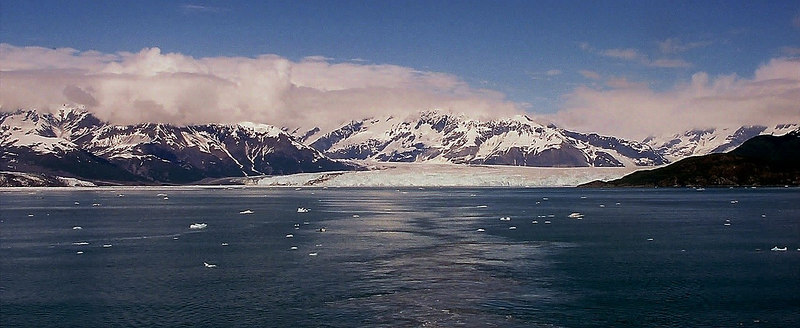Hubbard, Valerie, and Turner Glaciers in Disenchantment Bay