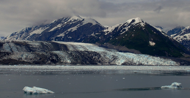 Turner Glacier with Bergy Bits and Growler Ice