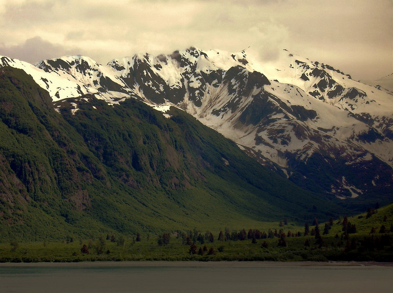 Glacial Valley from Disenchantment Bay