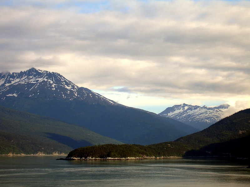 Passage to Dyea at the head of the Lynn Canal