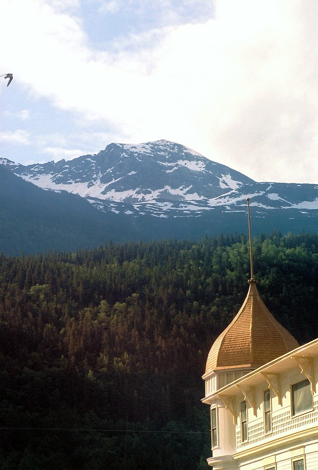 Golden North Hotel in Skagway, said to be Haunted