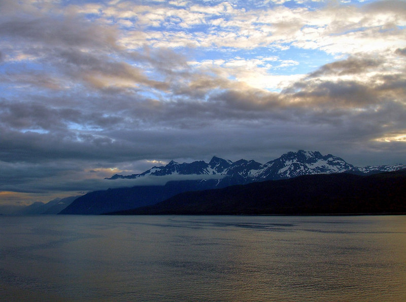 Early Morning in Lynn Canal looking Towards Skagway