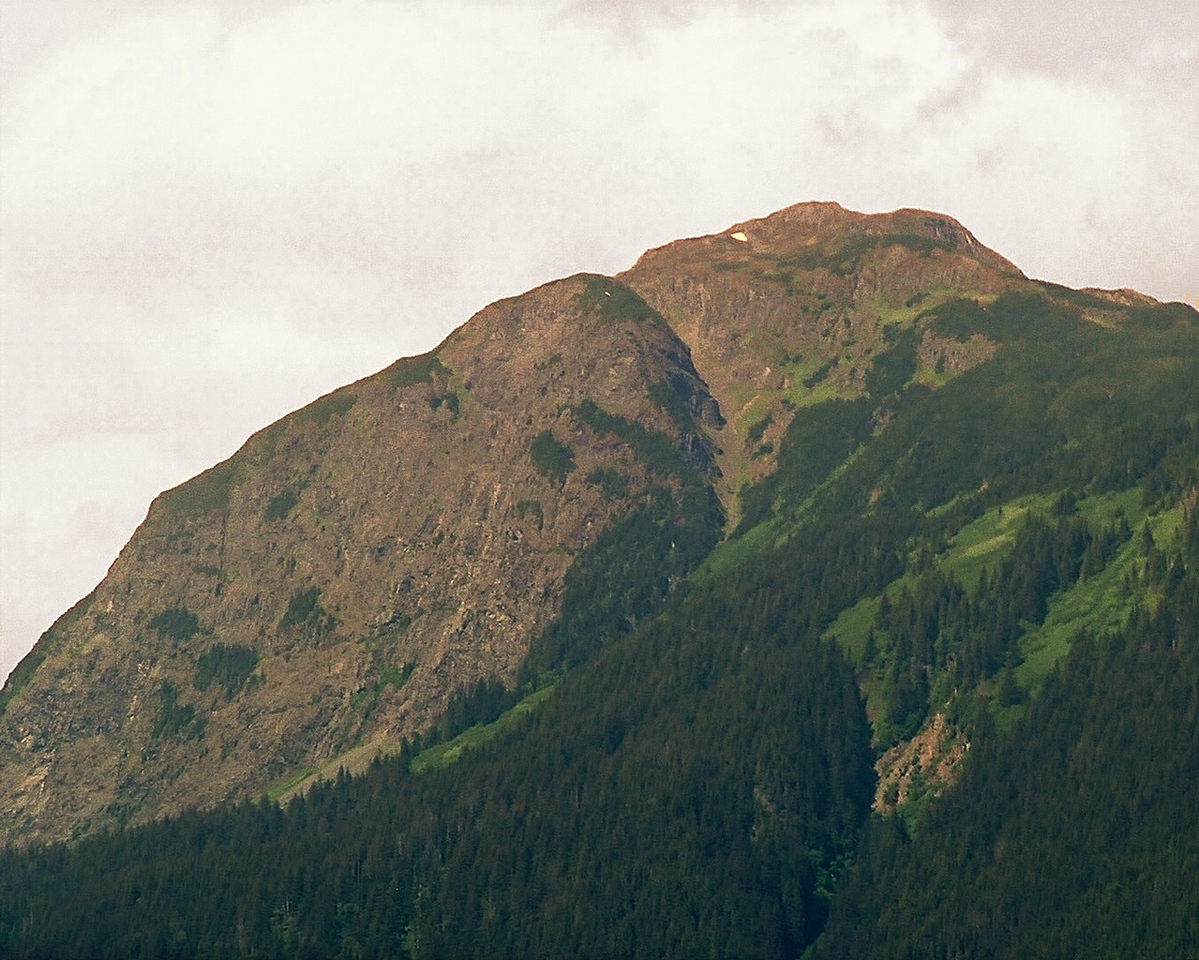 Mountain from the Chilkat River Valley