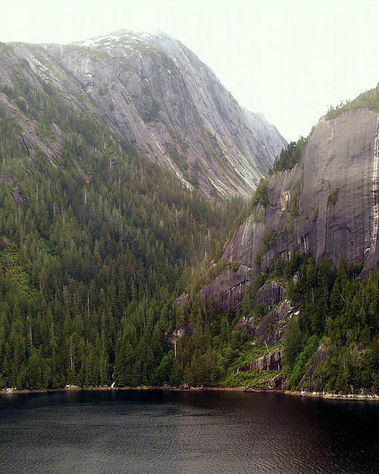 Rudyerd Bay in Misty Fjords