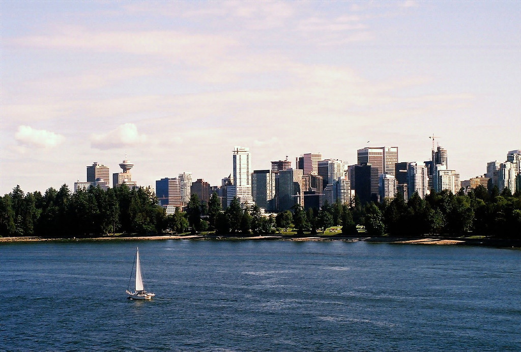 Vancouver Downtown from Serenade of the Seas