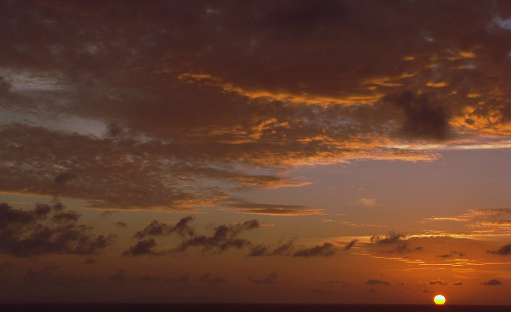 Sunset in the Grand Bahamas Bank off Cuba 7