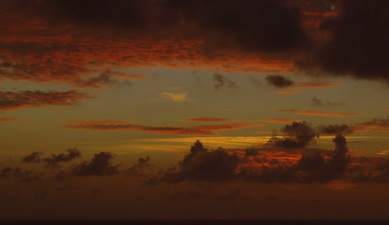 Evening Twilight in the Grand Bahamas Bank off Cuba 3
