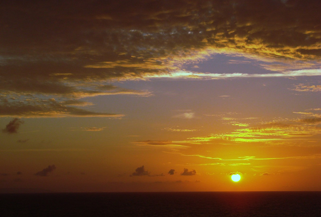Sunset in the Grand Bahamas Bank off Cuba 4