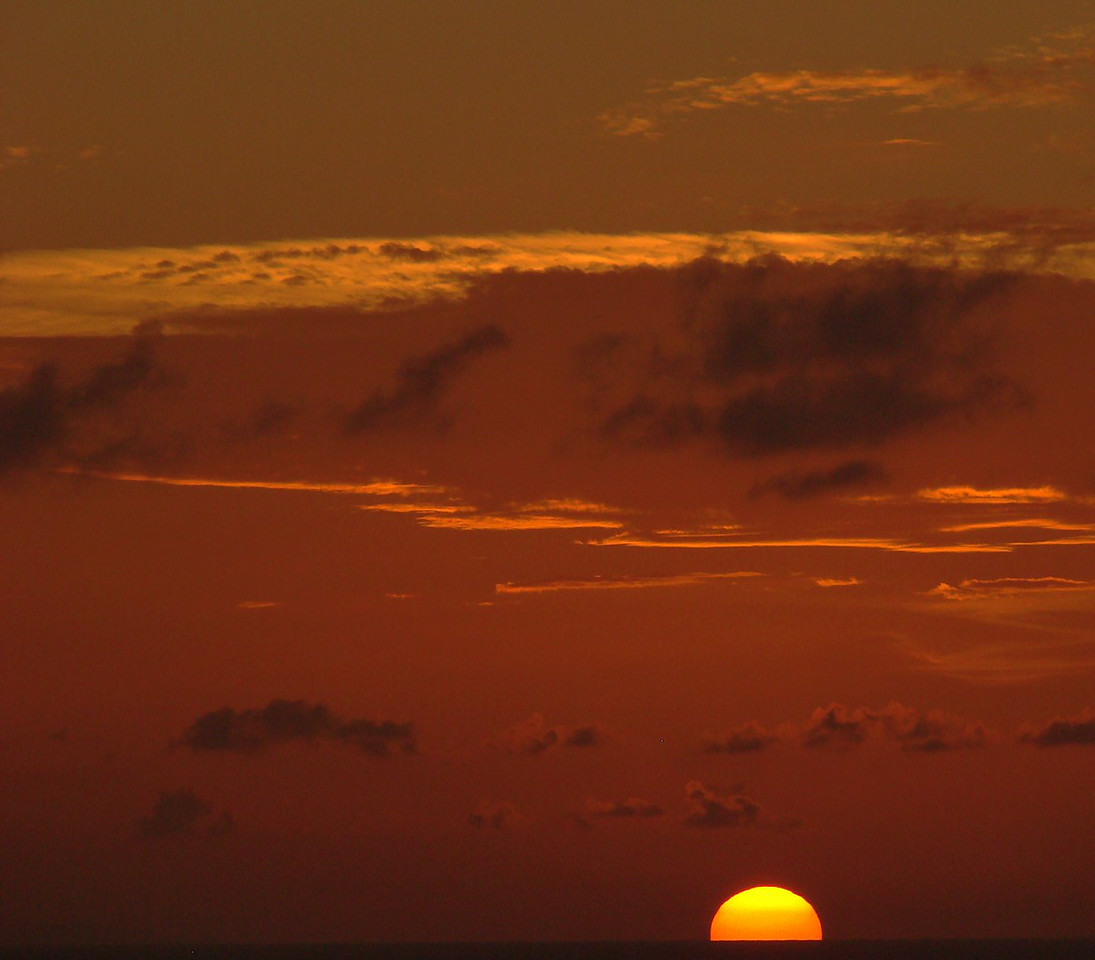 Sunset in the Grand Bahamas Bank off Cuba 8
