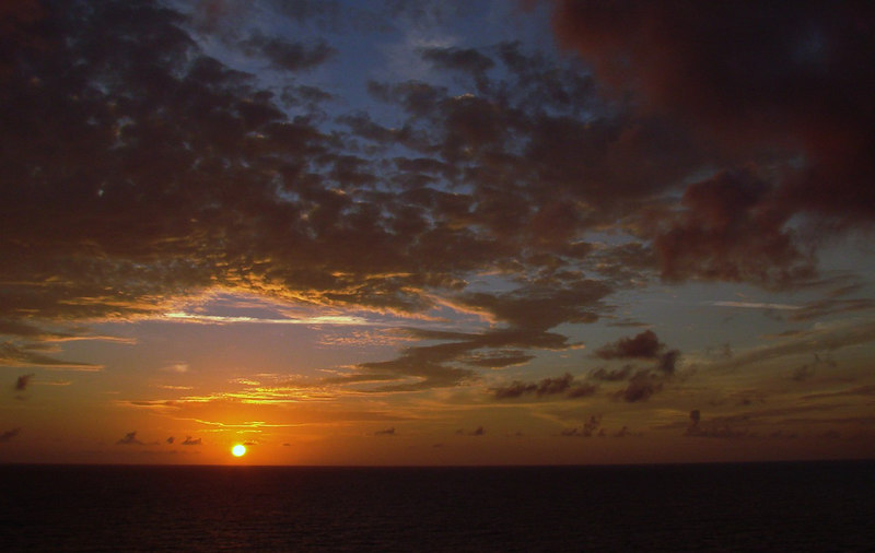 Sunset in the Grand Bahamas Bank off Cuba 5