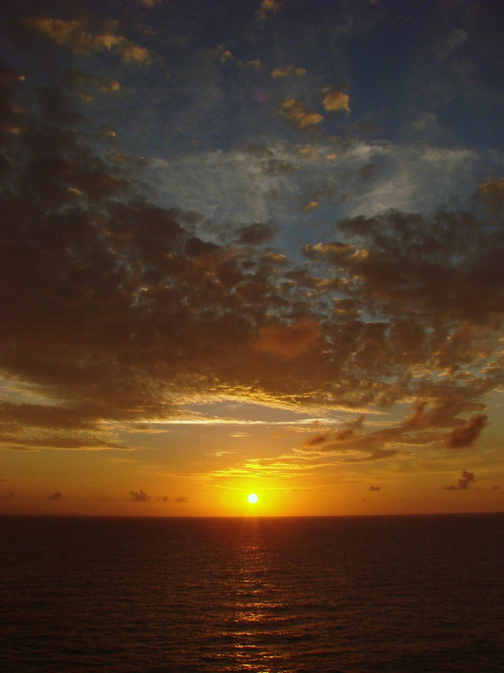 Sunset in the Grand Bahamas Bank off Cuba 2