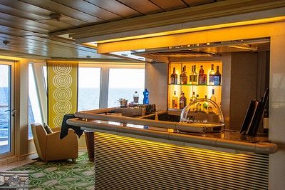 bar/starboard side of the Constellation lounge