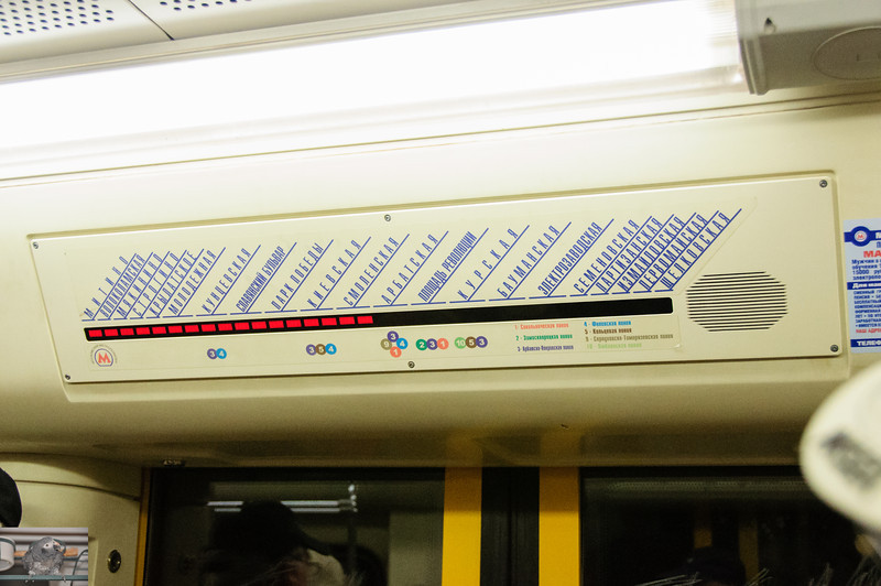That was actually one of the least user friendly in car maps I've seen on a subway in a while