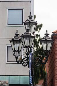 Interesting little street lamp