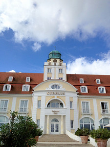 One of the many resorts in Binz