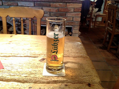 Finally, a real German beer!