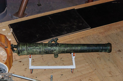 Cannon recovered from the Vasa