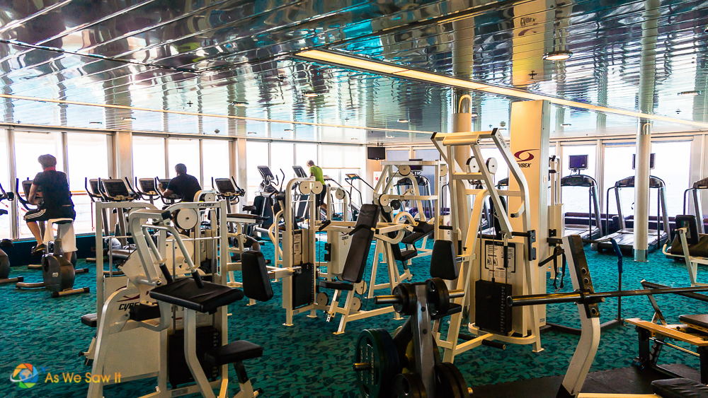 Exercise does great things for your body on a cruise besides burning off the buffets.