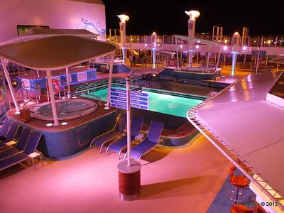 Aqua Park at Night NORWEGIAN BREAKAWAY PDM 30-04-2013 21-52-30
