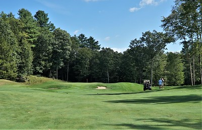 Hole #1 - the approach shot