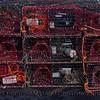 Lobster traps staging area Panulirus interruptus 2014 09-23 SB Harbor-a-078