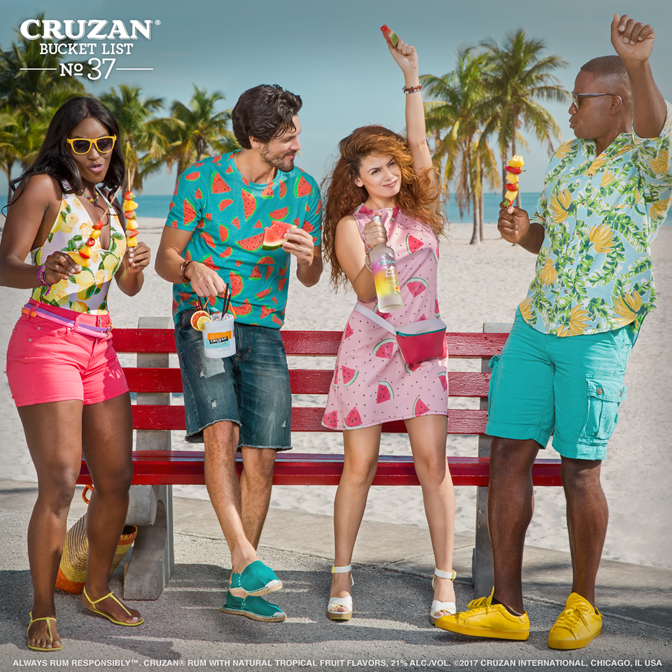 Bucket List No.37: Bring some flavor to your wardrobe ✔️ #CruzanBucketList